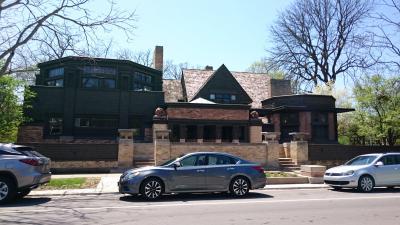 シカゴの休日街歩き、博物館と建築を巡る旅2 オークパークへ