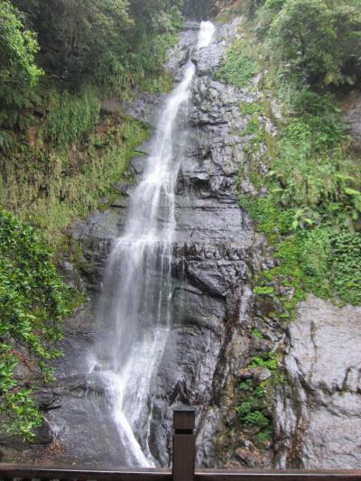晴れのち雨のち曇り 五峰旗瀑布 礁渓温泉