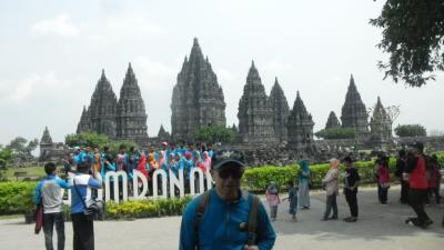 還暦過ぎ夫婦インドネシア旅行記(その4)プランバナンはとっても暑かった!ビールが飲みたい!
