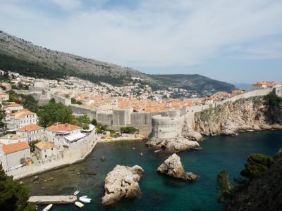 アドリア海の真珠を目指してクロアチアドライブ旅行(7日目)ドブロヴニク