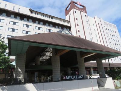 房総鴨川小湊の鴨川スパホテル三日月宿泊と濃溝の滝散策