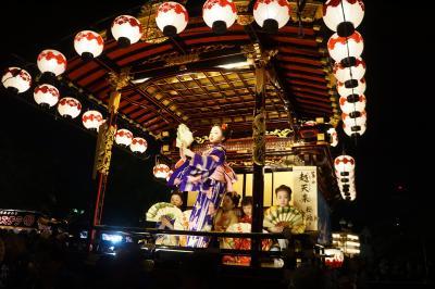 大垣祭りから、美濃赤坂と岐阜市内の散策(一日目)~総勢13輌の山車はからくり人形あり舞踊ありの多彩な内容。奥の細道結びの地、水門川の景観に水まんじゅうを楽しんで、一転、夜宮の華やかさと露店の多さももう一つの見どころです~