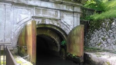 琵琶湖疎水通船に乗って京都蹴上から大津三井寺へ