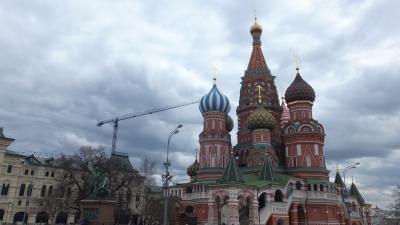 春のロシアは真冬並み【6、7日目 モスクワから帰国へ】