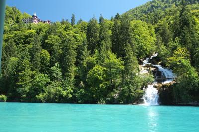 スイスアルプスも暑い!避暑にブリエンツ湖遊覧 ~ブリエンツからインターラーケンへ~