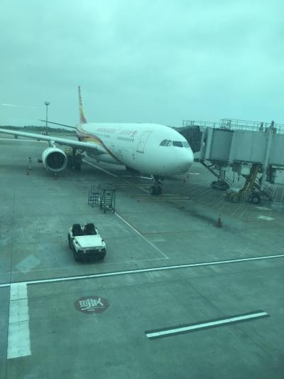 台北から香港航空で香港乗り換えでバンコクに観光に行ってきました。