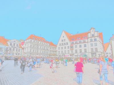 エストニア旅・タリン滞在 旧市街
