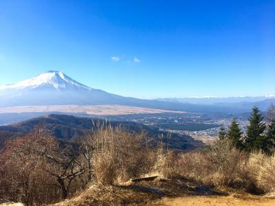 日帰り登山 石割山から立ノ塚峠