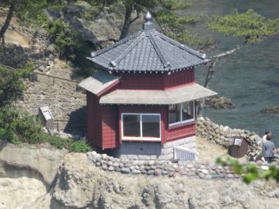 北茨城湯の網温泉・鹿の湯松屋に宿泊して五浦海岸に