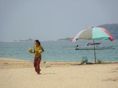 GW ミャンマー1人旅 ガパリビーチ