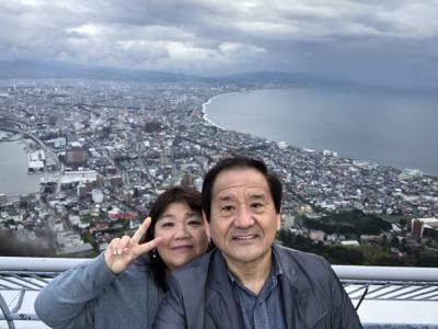 2018年「2人合わせて128歳 結婚36周年記念第一弾 8年ぶり2度目の北海道」 4日目 2日連続、どんぶり横丁~千歳まで