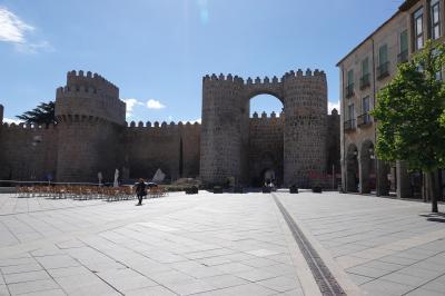 スペイン旅行ー3:アビラ(城壁が残る街)