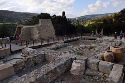 ギリシャ(13) クレタ島1 クノッソス宮殿前半
