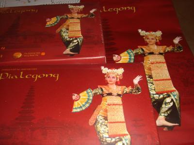 インドネシアのジャカルタ&バリ島からのお土産