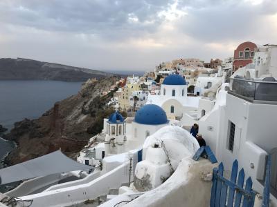 エーゲ海の絶景サントリーニ島と神話の街アテネを巡るギリシャの旅④ 世界一夕陽が美しい街イアへ