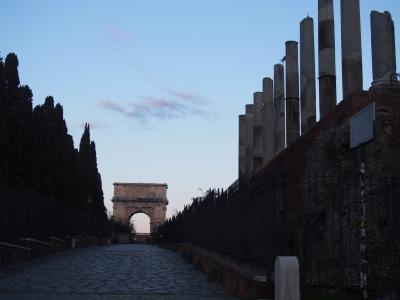 イタリア・マルタ卒業記念親子旅(4)天使と悪魔の掲示の道を巡るローマ
