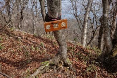 赤城山系「薬師岳」と日帰り入浴