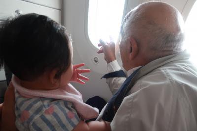 労働節バンコク旅7★娘7カ月初タイ ロイヤルヨルダン航空利用 バンコクから香港へ