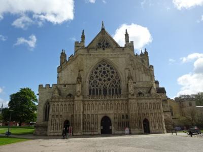 最後の英国旅行-11-エクセター大聖堂、キーサイド、ロイヤルアルバート博物館・美術館