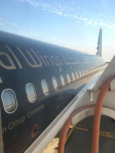 ロイヤルヨルダン航空ビジネスクラスで行くアンマンへ!カイロの道は渋滞してるので飛行機に乗り遅れた~w