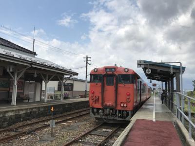 ゴールデンウィーク富山の自然をのんびり列車でめぐる旅(2)氷見篇