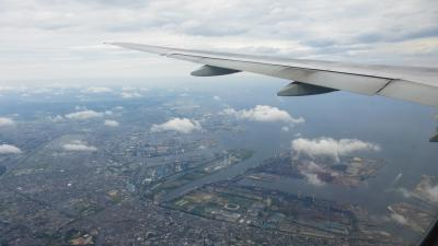 ANAの旅作利用で行く、東京2泊3日の旅【福岡出発~宿泊した『ホテルウィングインターナショナルプレミアム東京四谷』に移動編】