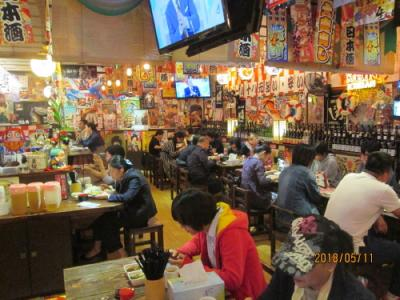 上海の居酒屋・平成屋(日式料理店)・四川北路
