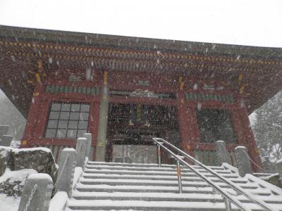 東京で年に一度の大雪を武蔵御嶽神社で迎えてみたよ!