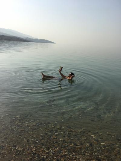 死海でプカプカ浮いてきました!死海リゾート満喫~