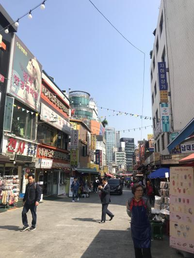 乗り継ぎ時間でソウル観光してみた