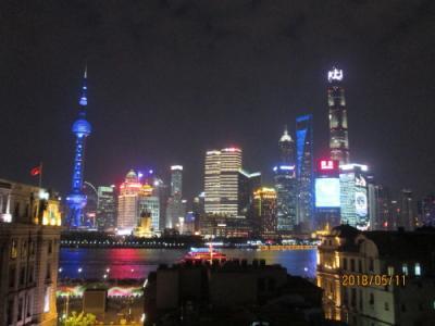 上海の船長酒巴・夜景が綺麗・福州路