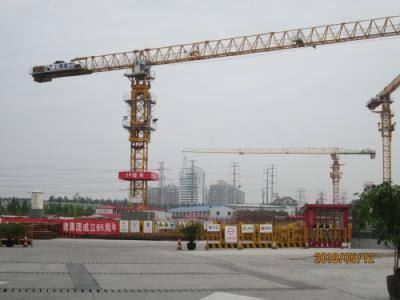 上海の金橋拉拉宝都(ララポート)・工事中
