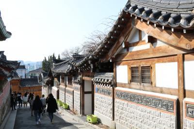 ウェスティン・チョソンホテルとソウル、北村韓屋マウル、昌徳宮