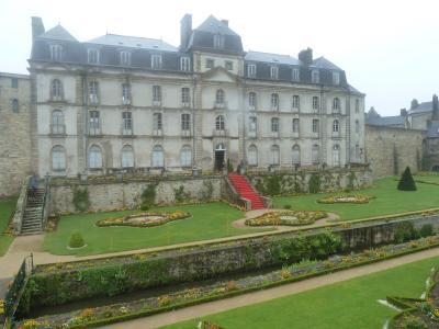 2018年GW二度目のフランス一人旅ブルターニュ地方からパリへ1 初日いきなり雨のヴァンヌ
