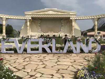 男4人で韓国3泊4日の旅 2日目~韓国最大級の遊園地エバーランドへ~