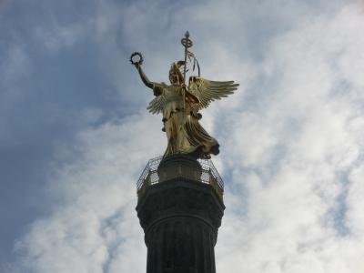 2018GW ドイツ02:ベルリン 戦勝記念塔ジーゲスゾイレとブランデンブルク門