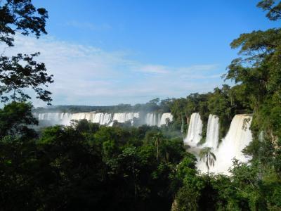 南米2018旅行記 【11】イグアスの滝(アルゼンチン)1(アッパー・トレイル)