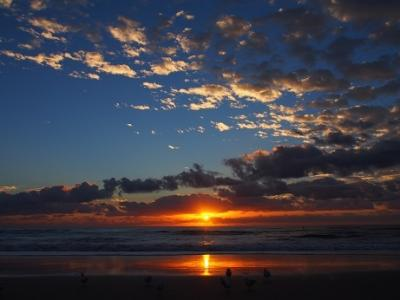 冬でもちゃんと楽しめる!姉妹で8月のゴールドコーストへ【最終日:早起きして海から昇る日の出を!&帰国&お土産編】