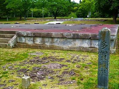 新緑の多賀城跡/廃寺跡
