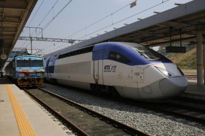2018年GWは韓国と台湾に行って来ました!コレールパスで行く韓国鉄道の旅(前半・韓国編4)KTXに乗って浦項に!東海線で盈徳行ってきました!