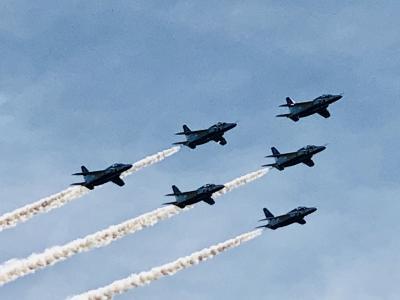 静浜基地航空祭 2018年は基地開設60周年 焼津市・大井川町合併10周年の記念航空祭
