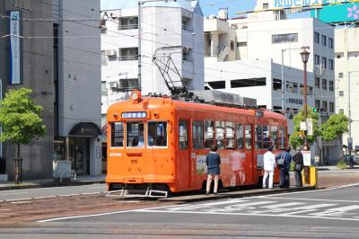 【鉄道のみ】伊予鉄道松山市内線、松山市駅付近で撮り歩きを楽しむ。