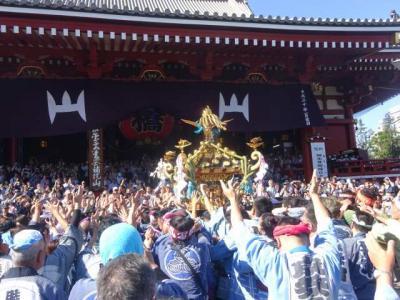 三社祭、あの日にかえる浅草