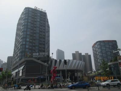 上海の徐匯緑地濱紛城・オープン・龍華中路
