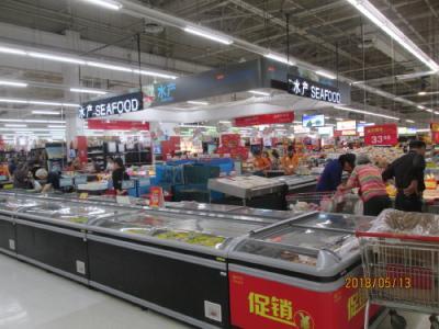「上海の生活超市・ト蜂蓮花・龍華中路