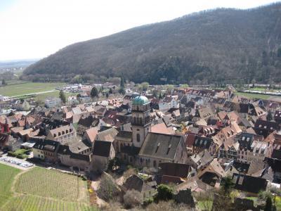 2018年 アルザス・スイス・南ドイツの旅 ⑥キンツハイムからカイゼルスベルク
