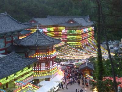 リベンジ 三光寺燃灯祭り&統営  2018年5月 釜山