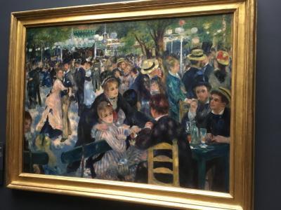 初欧州:パリ(と近郊)ひとり旅 [2]「パリの四月」雨とアートとあの絵画