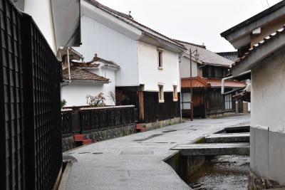 三江線 冬の思い出 ~天領の面影が残る江津本町~(島根)