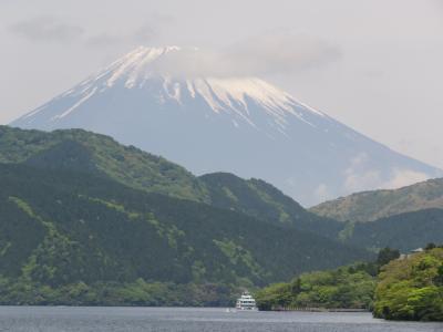 今年も箱根観光の旅を行う⑮桃源台〜元箱根港まで箱根海賊船に乗る